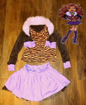 Clawdeen Wolf kids Costume Size Large youth for Sale in Ontario, CA