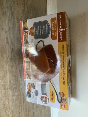 Copper chef pan for Sale in Orlando, FL