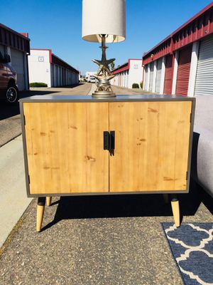 Mid century modern Tv media stand/ bar/ buffet cabinet for Sale in San Diego, CA