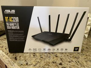 Asus AC3200 super speed WiFi router for Sale in Scottsdale, AZ