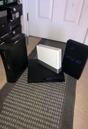 Xbox 360, PlayStation 2 & 3, Wii for Sale in Manassas, VA