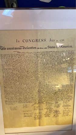 I Congress July 4-1776 for Sale in Fairmont,  WV