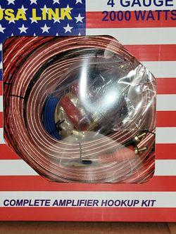 4 Gauge Amplifier Install Kit Brand New for Sale in Mauldin,  SC