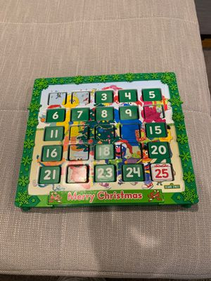 Sesame Street Christmas Calendar Countdown for Sale in Los Angeles, CA