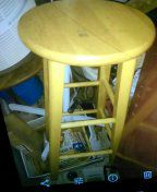 """Bar stool,unused,30"""" tall,good for seat or exercise. No lower price! for Sale in Roseville, MI"""