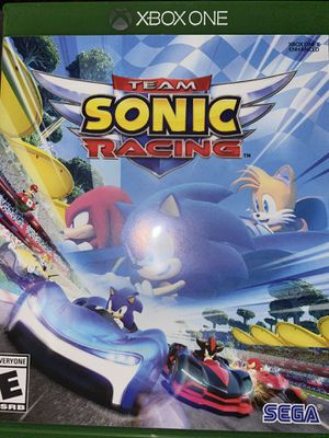 team sonic racing for xbox one video games for Sale in El Mirage, AZ