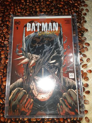 Batman who laughs 1 tony Daniel's variant signed for Sale in La Puente, CA