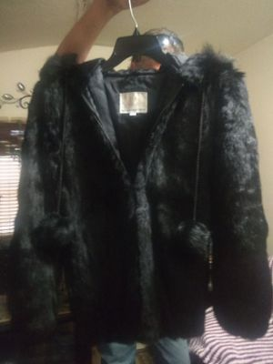 Princess caravelle real rabbit fur coat for Sale in Seagoville, TX