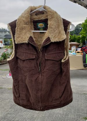Cabela womens fur vest size Large for Sale in Tacoma, WA