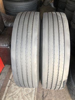 11r22.5 original regrooved tires for Sale in Riverside, CA