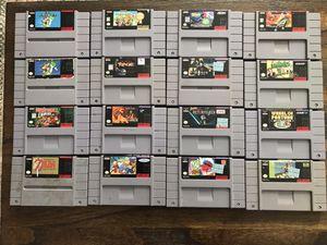 Super Nintendo Games for Sale in Denver, CO