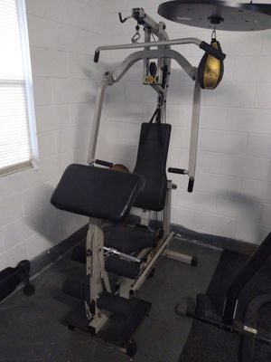 """NordicFlex Ultralift CX. This home gym is great for getting into shape. 4 bar linkage system. Overall dimensions are 26"""" x 51"""" x 79"""" tall for Sale in Orlando, FL"""