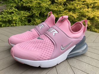 Nike Air Max 270 Extreme (GS) Pink Metallic Silver White CI1108-600 6Y / 7.5 Wmn R2P4 for Sale in Dallas, TX