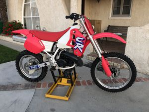 92 Honda CR 500 are Motorcycle mint condition for Sale in Huntington Beach, CA