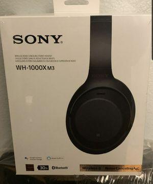 Sony wh-1000X m3 Headphones for Sale in Newport News, VA
