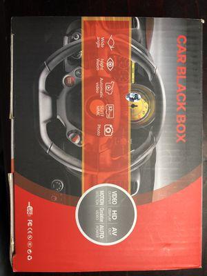 New CAR BLACK BOX recording camera $35 obo for Sale in San Jose, CA