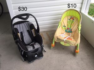 Car seat + chair for Sale in Davenport, FL