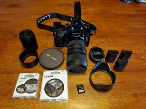Panasonic GH5 w/ Sigma 18 - 35mm & Metabones Speedbooster Filmmaking Kit for Sale in Jersey City, NJ