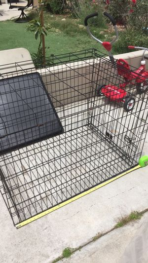 Large Collapsible Metal Dog Crate or Kennel for Sale in San Diego, CA