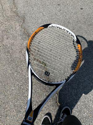 Wilson k zen team k factor tennis racket for Sale in El Monte, CA