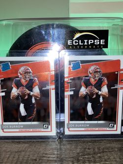 Optic Joe Burrow Rated Rookies for Sale in Plainfield,  IL