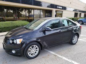 2013 Chevy Sonic LT 40 MPG 43000 miles for Sale in San Antonio, TX