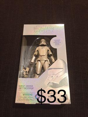 Star Wars Black Series Jet Trooper carbonized for Sale in Gilbert, AZ