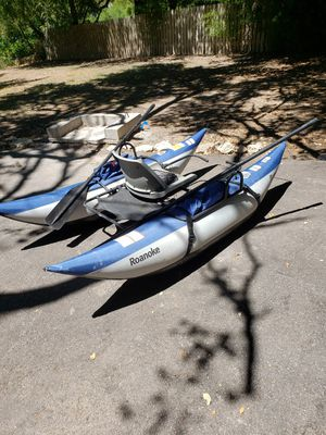 Inflatable Pontoon Fishing Boat for Sale in Crosby, TX