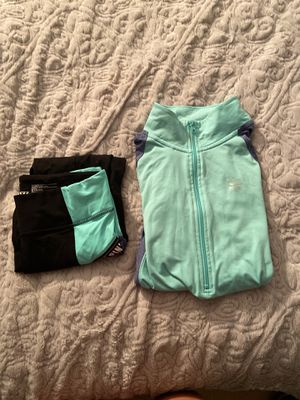 Pink Victoria Secret Jump Suit (matching set) for Sale in Sykesville, MD