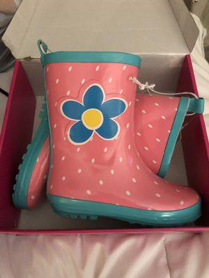 Kids size 7 rain boots for Sale in Tamarac, FL