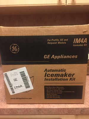 BRAND NEW! GE Automatic Icemaker Installation Kit IM4A for Sale in Miami, FL