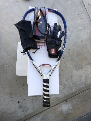 Racquetball - Wilson Racquet & Glove / Ektelon protective glasses for Sale in Westlake Village, CA