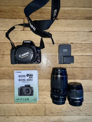Canon Rebel XTI 400D for Sale in Seattle, WA