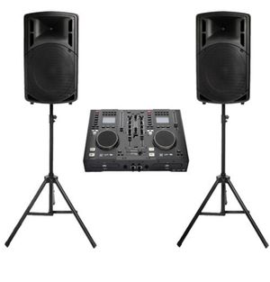 Edison Professional DJ Equipment for Sale in Tustin, CA