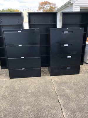 Lateral file cabinets for Sale in Bellmore, NY
