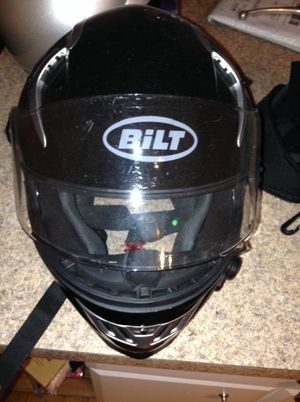 Bilt Bluetooth motorcycle helmet lg sz for Sale in Chicago, IL