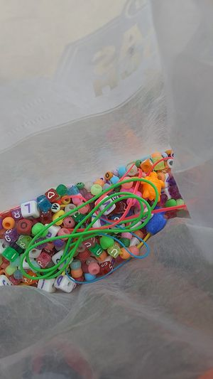 Beads and some strings for Sale in Austin, TX