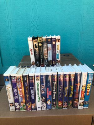 Children's VHS tapes for Sale in Banning, CA