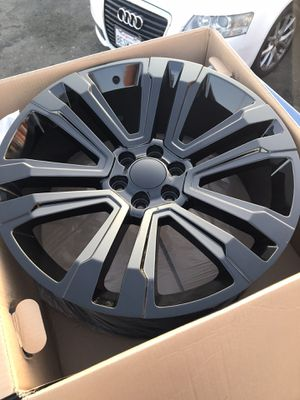 """24"""" Denali rep wheels 6 lug Chevy Silverado GMC Sierra for Sale in Ontario, CA"""