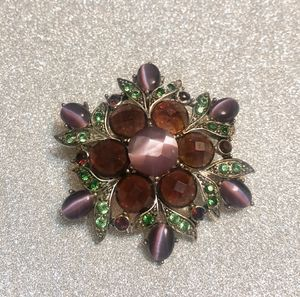 Gently Used Macy's Purple & Green Brooch for Sale in Forest Heights, MD