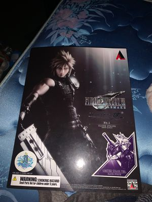 Final fantasy 7 remake play arts Kai limited edition Cloud Strife colored version for Sale in Phoenix, AZ
