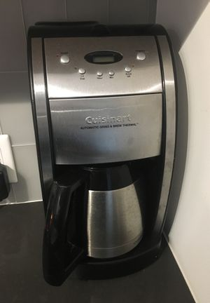 Cuisinart 10-cup automatic programmable thermal coffeemaker for Sale in Washington, DC