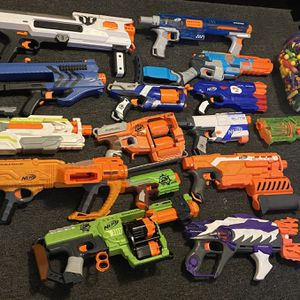 Nerf Guns And Accessories for Sale in Franklin Township, NJ