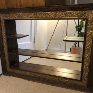 Vintage Mirror With Shelves for Sale in Oakland, CA