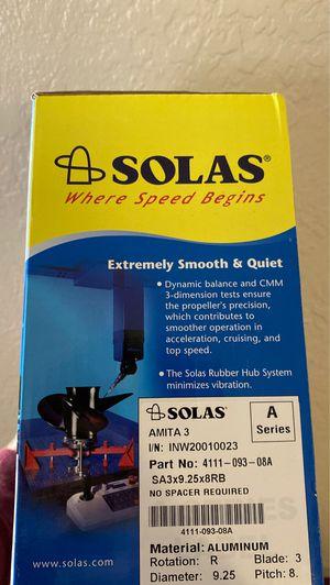 Brand new Solas aluminum prop for Sale in St. Petersburg, FL