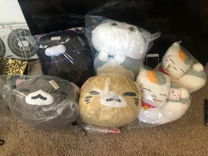 """TOREBA CATS AUTHENTIC JAPANESE PLUSHIES 12""""-16"""" for Sale in Gardena, CA"""