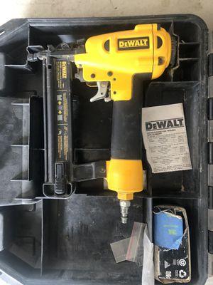 DEWALT NAIL GUN for Sale in Lake Elsinore, CA