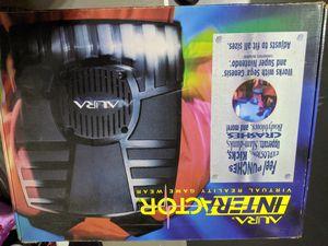 Super Nintendo, Sega Genesis virtual reality interactor for Sale in Riverside, CA
