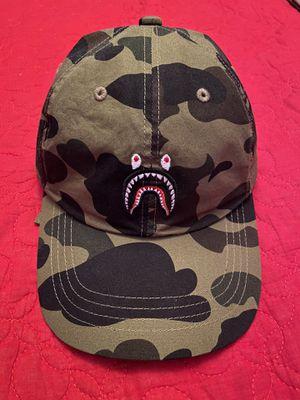 Bape 1st Camo Shark Dad Hat for Sale in Las Vegas, NV