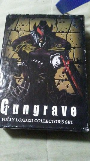 Gungrave fully loaded dvd collector set for Sale in South San Francisco, CA